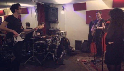 Toby Session Rehearsals – 'Scarlet' singer/songwriter – London,  Jan 2017