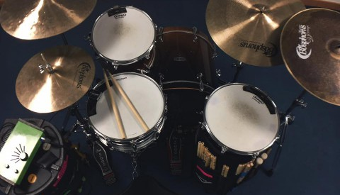Session Drumming – Acoustic Set UP